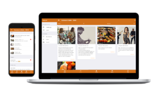 Smartphone-App für die Gastronomie