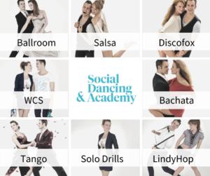 Tanzkurs Solo- und Paartanz für alle Levels