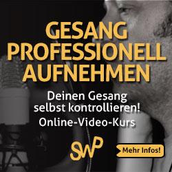 Videokurs Gesang professionell aufnehmen