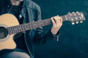 Jazzakkorde für Gitarre